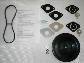 1- ASM D25 DIAPHRAGM PUMP - FLUID END REPAIR KIT