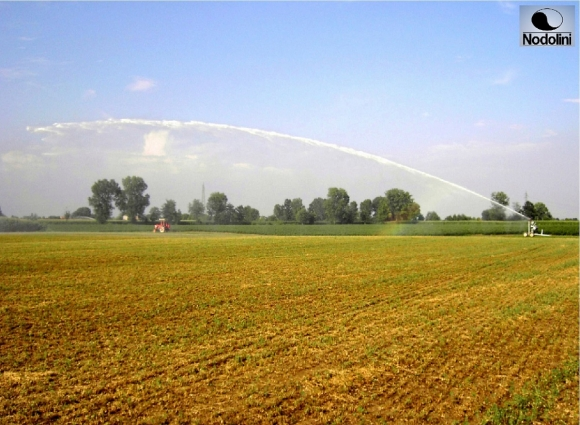 IRRIGATION-RAIN WATER CANNON SPRINKLER-GEARED