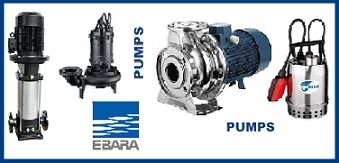 EBARA PUMPS - CENTRIFUGAL
