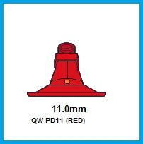 5- PD11 (RED) POLY NOZZLE