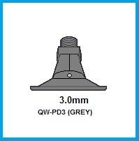 1- PD3 (GREY) POLY NOZZLE