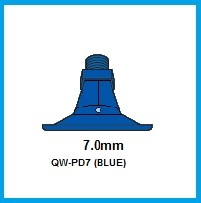 3- PD7 (BLUE) POLY NOZZLE