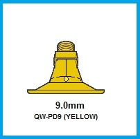 4- PD9 (YELLOW) POLY NOZZLE