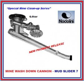 MINE WASH DOWN CANNON - NODOLINI - MUD SLIDER 7