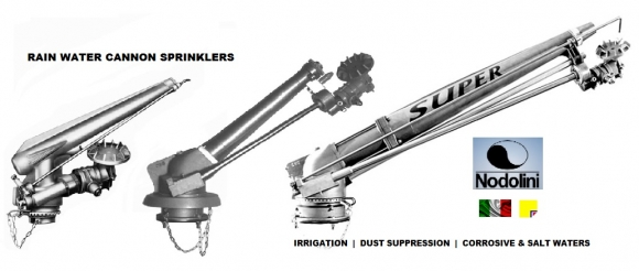 WATER CANNON SPRINKLERS