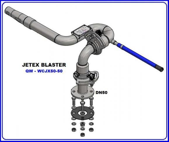 JETEX BLASTER DN50-316SS