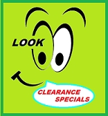 Managers Clearance Specials