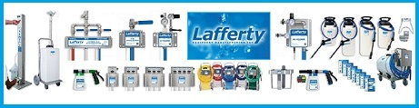 Lafferty Foamer & Sanitizer Extensive Range