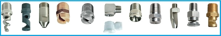 Spray Nozzles | Water Nozzles | Water Spray Nozzles for all applications