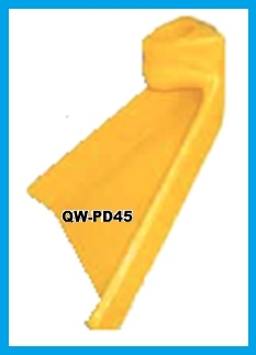 PD45 DUCK FEET POLY SPRAY NOZZLE